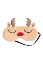 Sleep mask - Light beige/Reindeer - Ladies | H&M CN 1