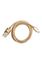 Charging cable - Gold - Ladies | H&M 2