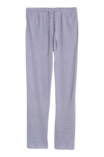 Viscose jersey pyjama bottoms