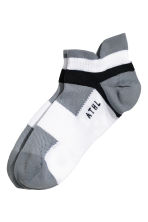 3-pack sports socks - White/Black - Men | H&M CN 2