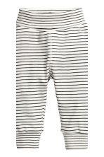 2-pack leggings - Dark grey - Kids | H&M CN 3