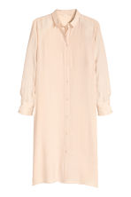 Oversized shirt - Light beige - Ladies | H&M CN 2