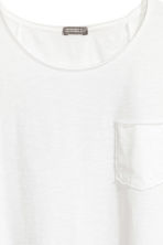 Long T-shirt - White - Men | H&M CN 3