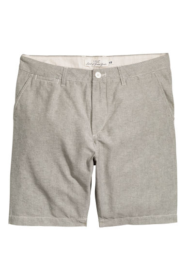 Chino shorts - Light grey - Men | H&M CN 1