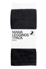 MAMA 200丹內搭褲 - Black - Ladies | H&M 2
