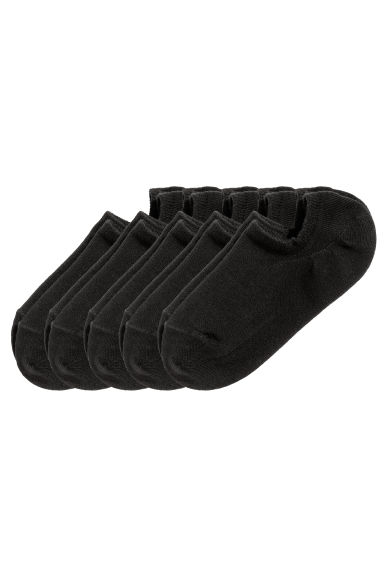 5-pack trainer socks - Black - Ladies | H&M 1