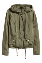 Lyocell parka - Khaki green - Ladies | H&M CN 2