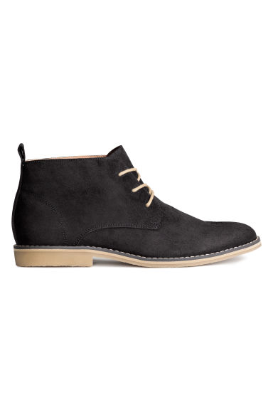 Desert boots - Black - Men | H&M CN