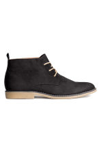 Desert boots - Black - Men | H&M CN 1