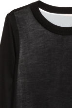 H&M+ Fine-knit jumper - Black - Ladies | H&M CN 4