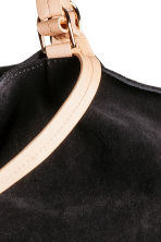 Suede shopper - Black - Ladies | H&M CN 3
