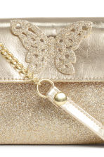 Small shoulder bag - Gold/Butterfly -  | H&M CN 3