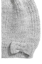 Rib-knit hat - Grey/Glitter - Kids | H&M CN 2