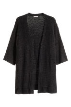 H&M+ Knitted cardigan - Black - Ladies | H&M CN 2