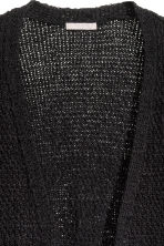 H&M+ Knitted cardigan - Black - Ladies | H&M CN 3
