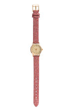 Watch - Pink/Glittery - Ladies | H&M CN 2