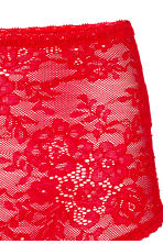 Light shaping string in lace - Red - Ladies | H&M CN 3