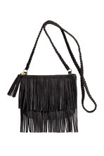 Fringed shoulder bag - Black - Kids | H&M CN 1