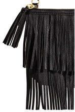 Fringed shoulder bag - Black - Kids | H&M CN 3