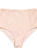 Textured bikini - Powder pink - Ladies | H&M CN 2