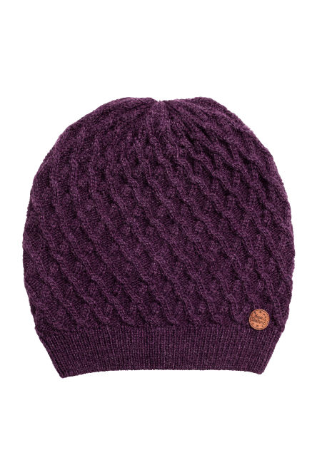 Hat in a textured knit