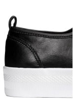Sneakers con plateau - Nero - DONNA | H&M IT 5