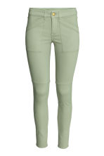 Superstretch trousers - Khaki green - Ladies | H&M CN 2