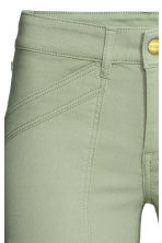 Superstretch trousers - Khaki green - Ladies | H&M CN 5