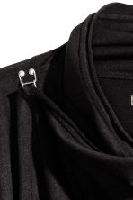 Wrapover cardigan - Black - Men | H&M CN 3