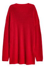 Knitted turtleneck jumper - Red - Ladies | H&M CN 2