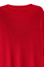 Knitted turtleneck jumper - Red - Ladies | H&M CN 3