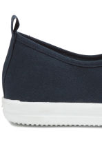 Slip-on trainers - Dark blue - Men | H&M 8