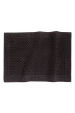 Tappetino jacquard - Nero - HOME | H&M IT 1