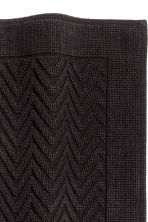 Tappetino jacquard - Nero - HOME | H&M IT 2