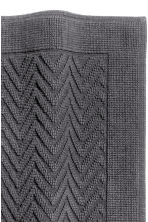 Jacquard-weave bath mat - Dark grey - Home All | H&M CN 2