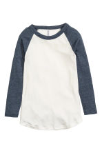 Baseball shirt - Blue-grey - Ladies | H&M 2