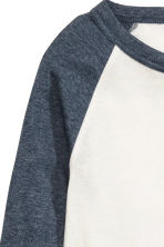 Baseball shirt - Blue-grey - Ladies | H&M 3