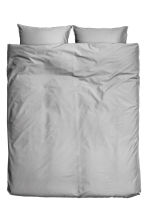 Cotton duvet cover set - Grey - Home All | H&M CN 2