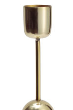 Large candlestick - Gold - Home All | H&M GB 3