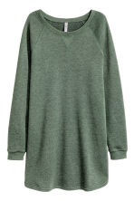 Sweatshirt dress - Khaki green - Ladies | H&M CN 2