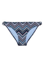 Bikini bottoms - Dark blue/Mosaic - Ladies | H&M CN 2