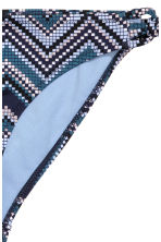 Bikini bottoms - Dark blue/Mosaic - Ladies | H&M CN 3