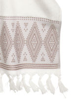 Hand towel with embroidery - White - Home All | H&M CN 3