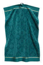 Jacquard-weave towel - Petrol - Home All | H&M IE 2