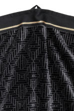 Jacquard-weave towel - Black - Home All | H&M CN 2