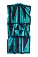 Jacquard-weave bath towel - Dark blue/Petrol - Home All | H&M CN 3