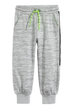 Sports trousers - Grey marl -  | H&M CN 2