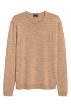 Merino wool jumper - Camel - Men | H&M CN 2