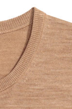 Merino wool jumper - Camel - Men | H&M CN 3