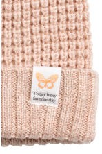 Glittery hat - Powder/Glittery - Kids | H&M CN 2